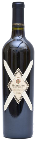 2006 Highlands Cabernet Sauvignon Napa Valley