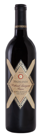 2018 Highlands Cabernet Sauvignon Reserve Howell Mountain