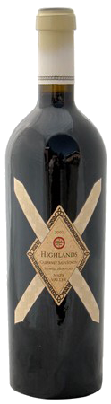 2001 Highlands Cabernet Sauvignon<br>Howell Mountain Black Sears Vineyard