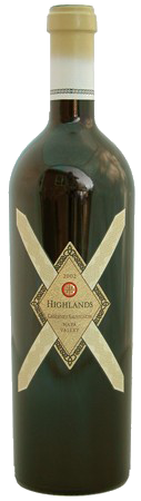 2002 Highlands Cabernet Sauvignon<br>Howell Mountain Beatty Ranch