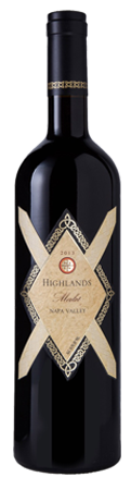 2012 Highlands Merlot Napa Valley