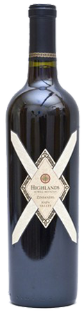 2012 Highlands Zinfandel Napa Valley Image